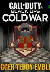 Call of Duty Black Ops Cold War Ultra Rare Jugger Teddy Animated Emblem DLC