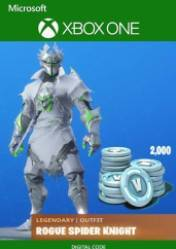 Fortnite: Legendary Rogue Spider Knight Outfit