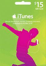 ITunes Gift Card $15