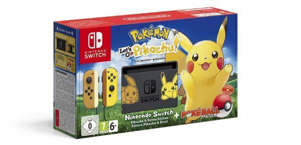 Nintendo Switch Pokemon: Lets Go Edition