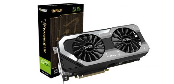 Palit GeForce GTX 1070 Ti Super JetStream 8GB GDDR5