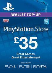 PlayStation Network Card 35 GBP UK
