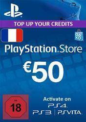 PlayStation Network Card 50 EUR FR