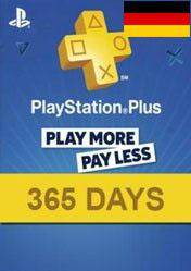 PlayStation Plus 365 days card DE