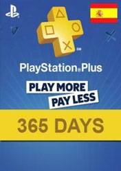 PlayStation Plus 365 days card ES