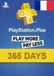 PlayStation Plus 365 days card FR