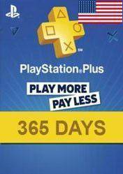 PlayStation Plus 365 days card US