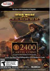 Star Wars: The Old Republic 2400 Cartel Points Card