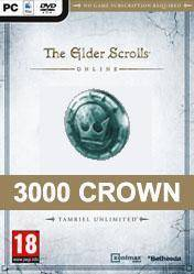 The Elder Scrolls Online 3000 Crown Pack