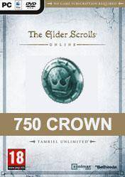 The Elder Scrolls Online 750 Crown Pack
