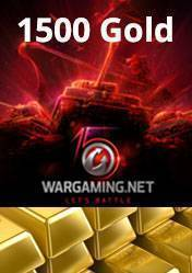 Wargaming 1500 Gold