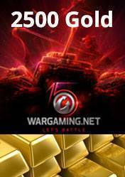Wargaming 2500 Gold