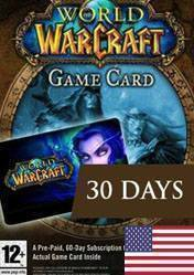 World of Warcraft: 30 Day Pre-Paid Time Card US