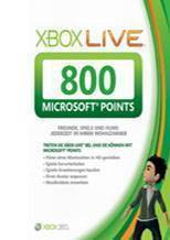 Xbox LIVE EU 800 Points